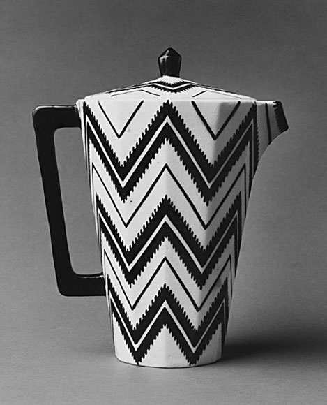 Coffee Pot, ca. 1912. Pavel Janàk (Czech, 1882–1956). Photo courtesy: The Metropolitan Museum of Art.