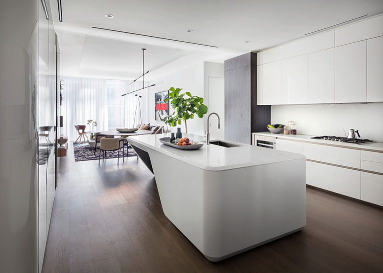 Zaha Hadid Model Apartment
