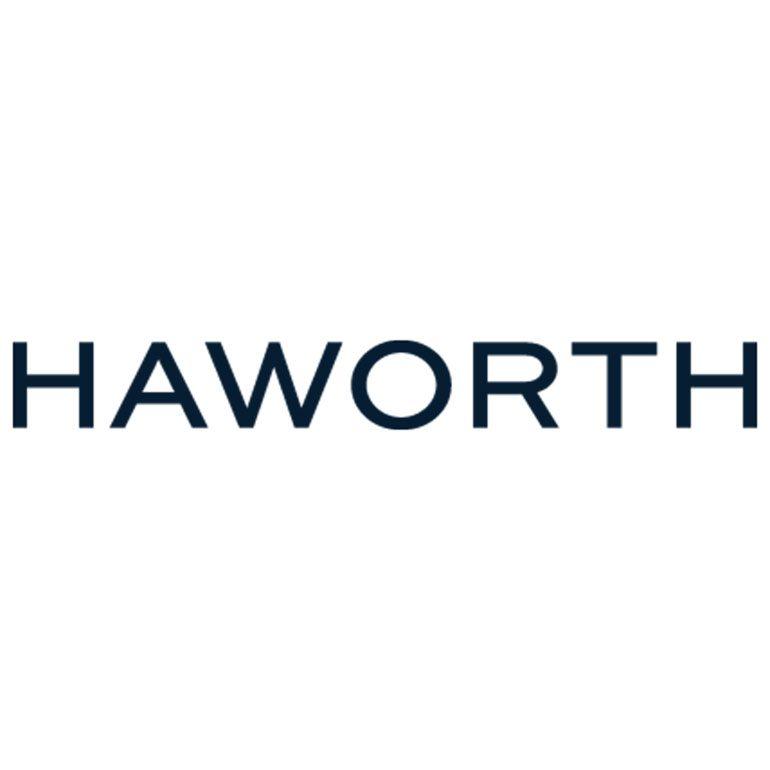 Haworth logo.