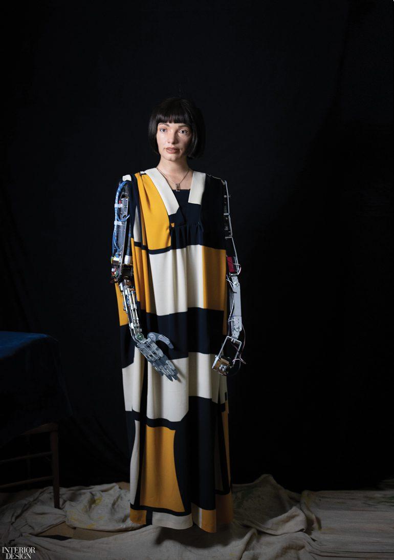 The Design Museum in London Exhibits Art Producing Humanoid ...