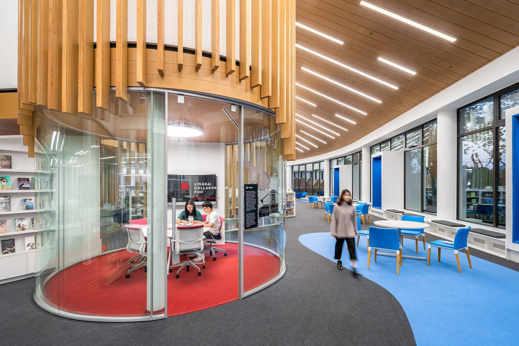 Shanghai American School Puxi Campus Library
