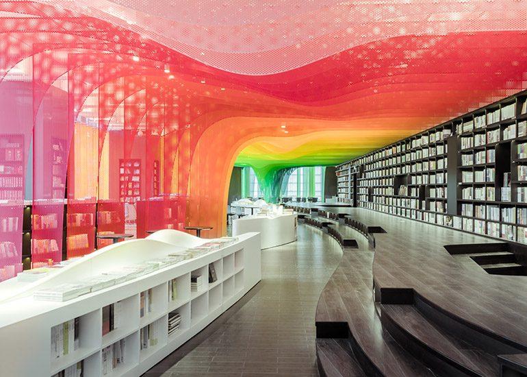 Zhongshuge Bookstore in Suzhou
