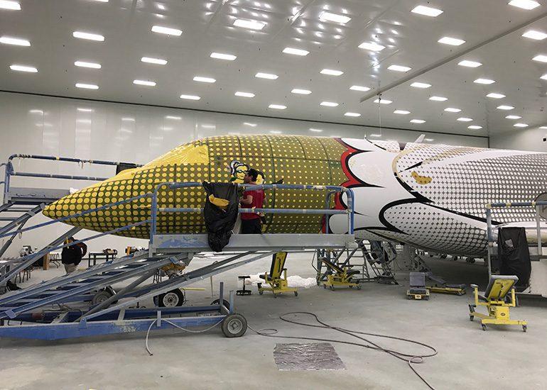 Gulfstream II G650 Exterior Graphics