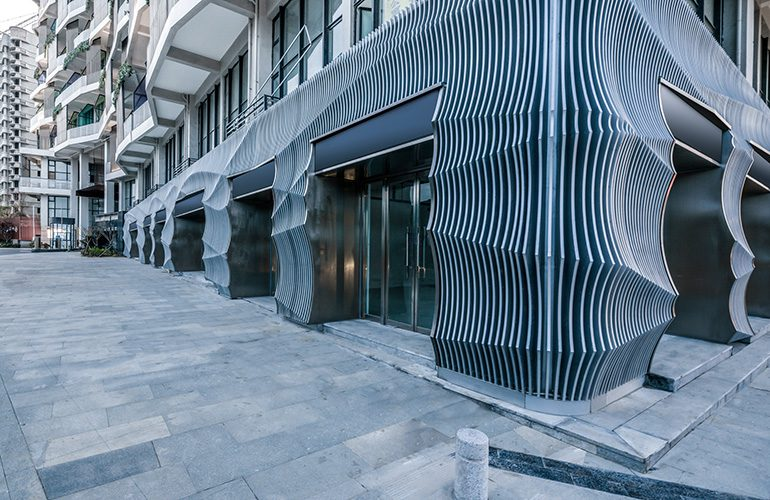 Facade Reconstruction of Qingdao Fashion Center