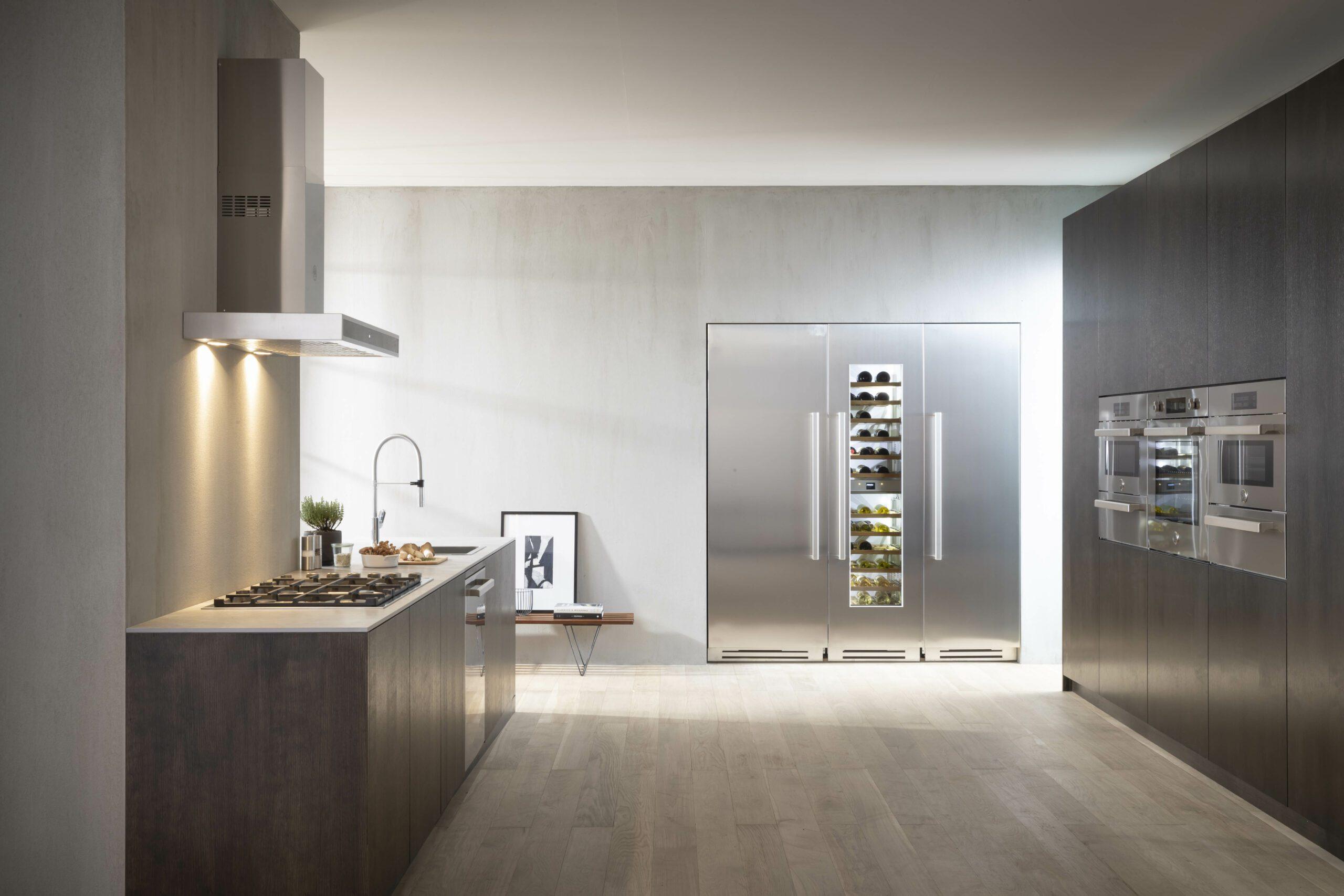"30"" Stainless Steel Built-in Refrigerator Column"