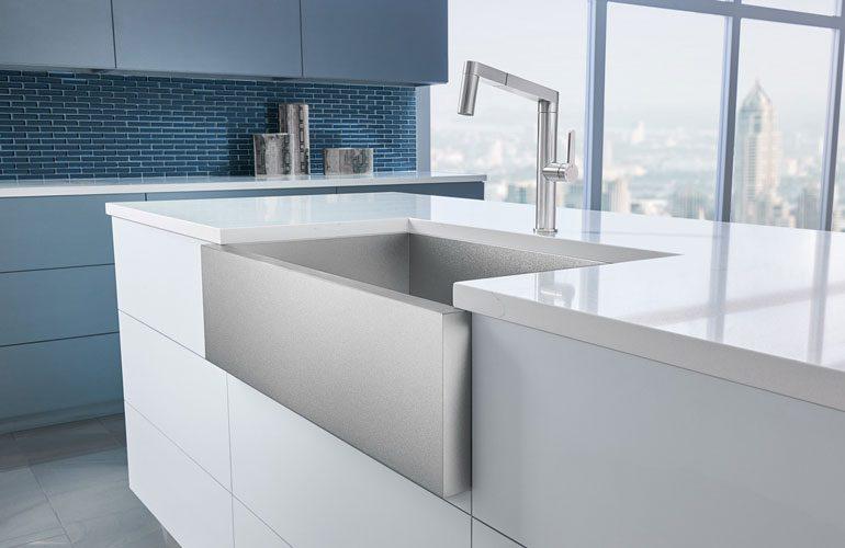 Blanco Precision® R0 Durinox® Super Single Bowl with Apron