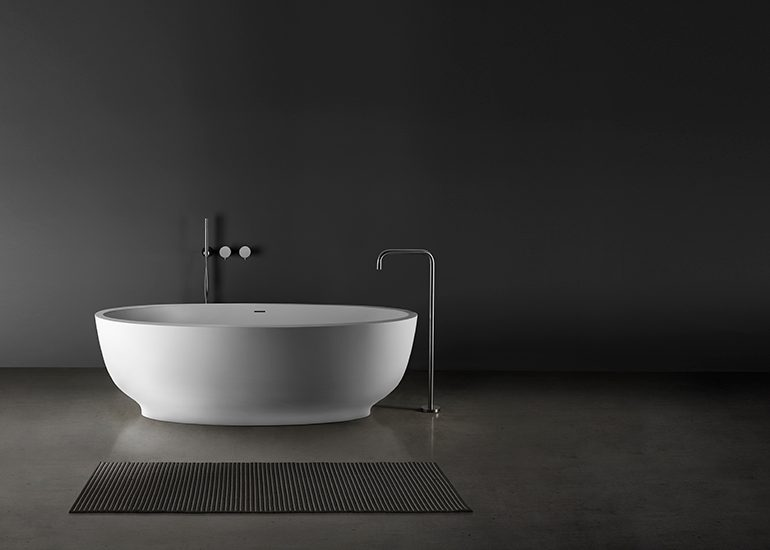Fini•1 Blu•Stone™ Bathtub