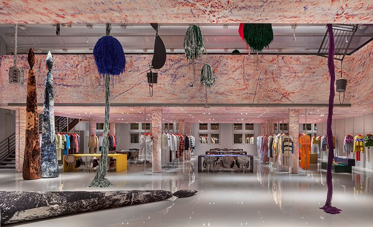 Calvin Klein Showroom