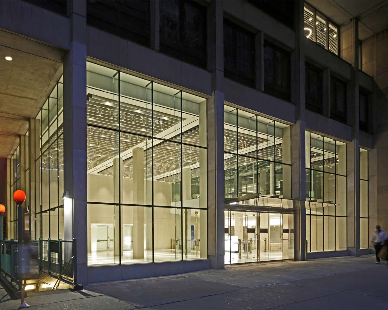 Pomerantz Lobby, Fashion Institute of Technology
