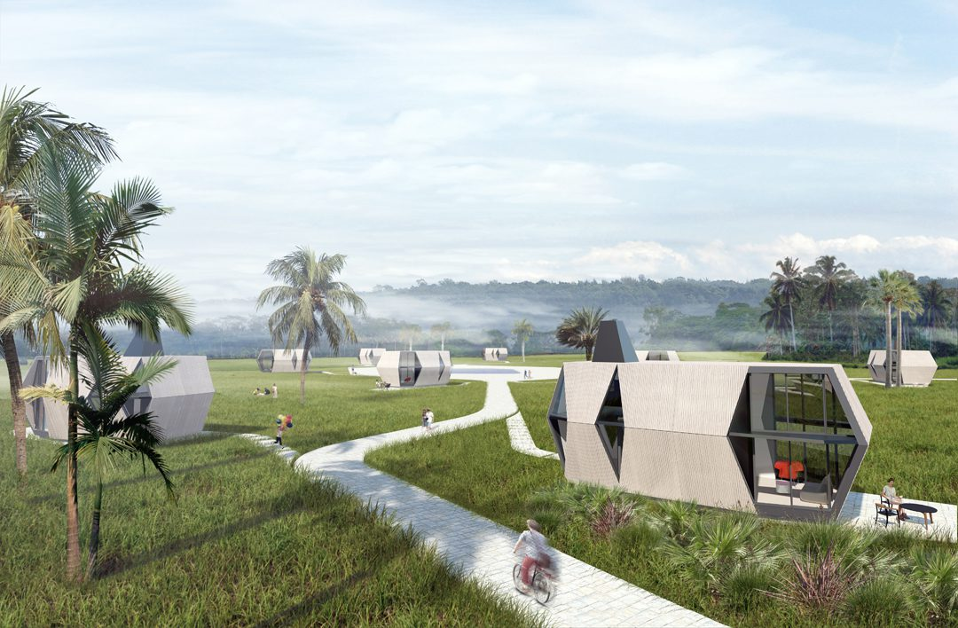Prototype Folding Pods for Disaster Relief