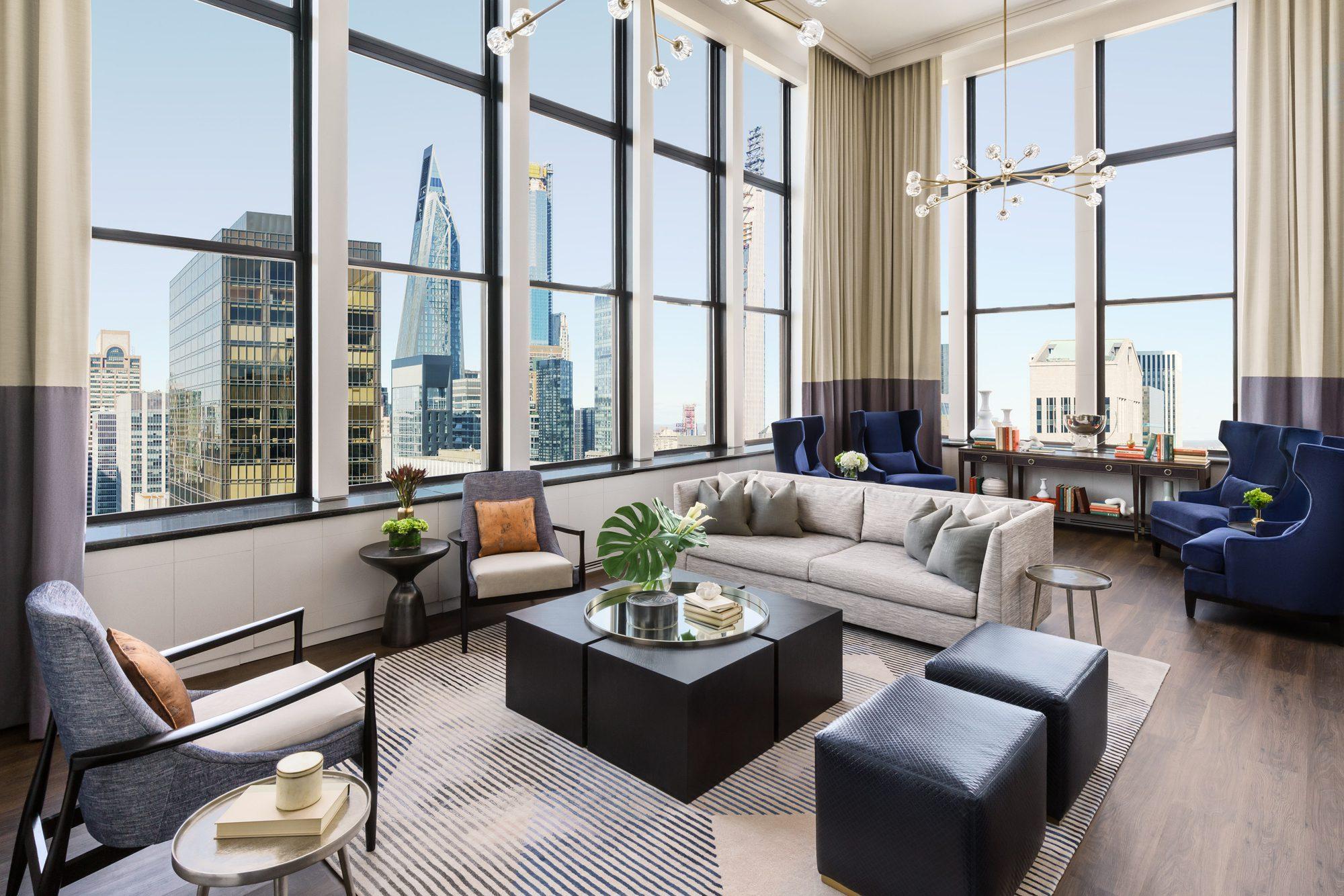 Penthouse Suite, Lotte New York Palace