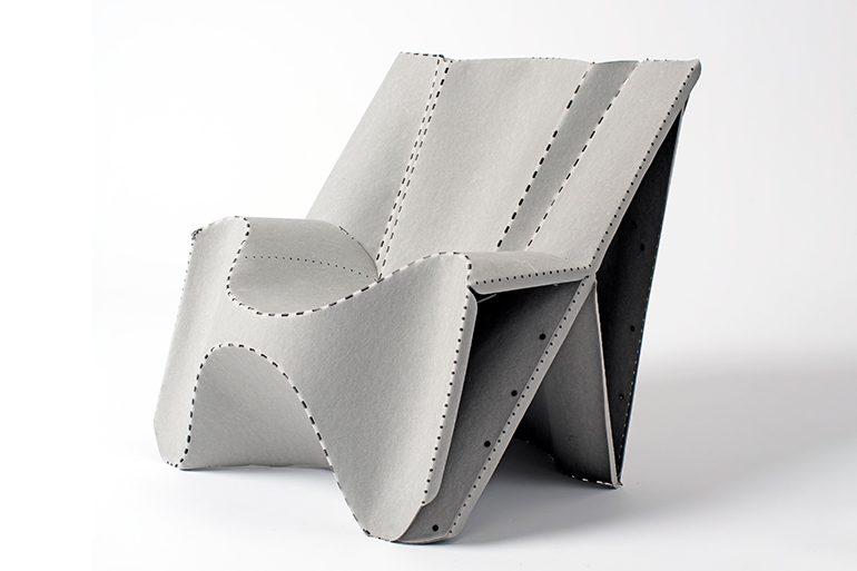 Curved Crease Folding Furniture