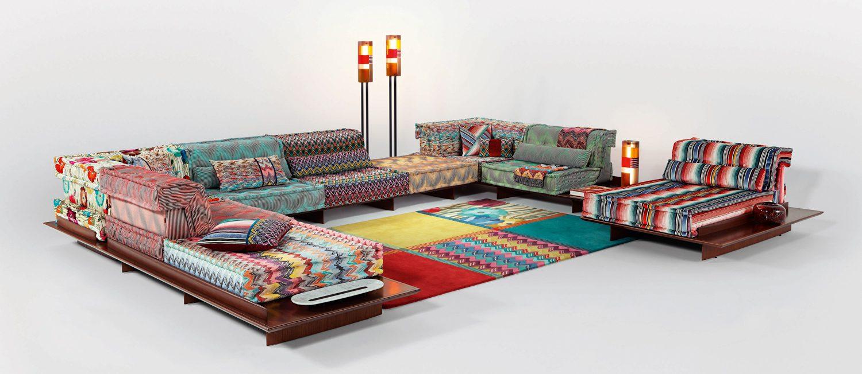Roche Bobois modular lounge.
