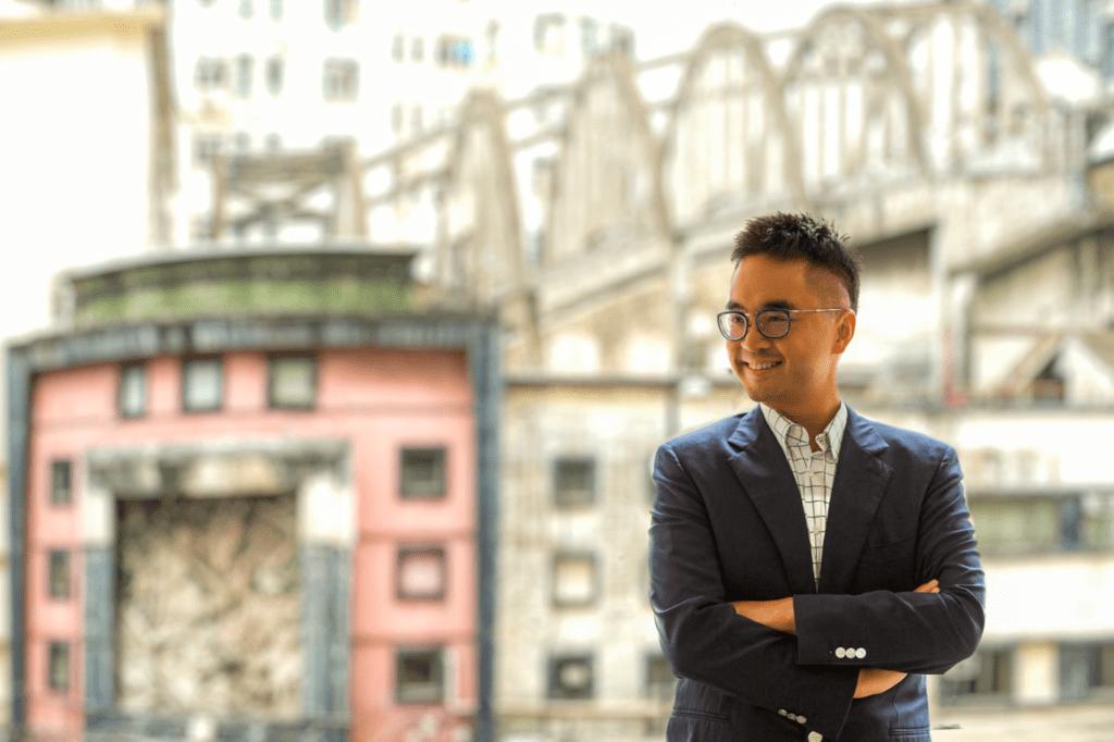 Adrian Cheng.