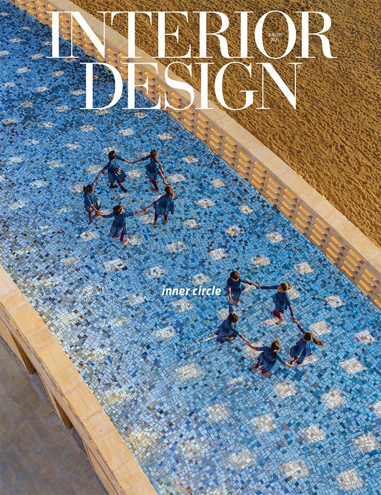 Interior Design magazine cover August 2021