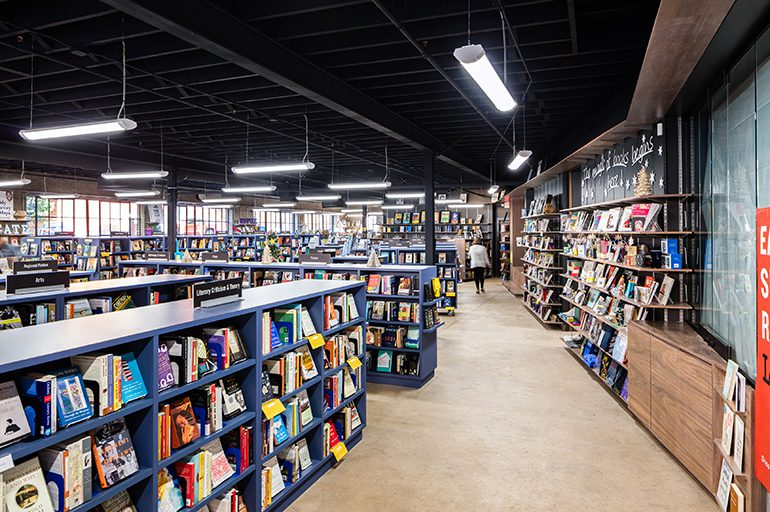 Bookmarks Nonprofit Bookstore & Literary Arts Gathering Space