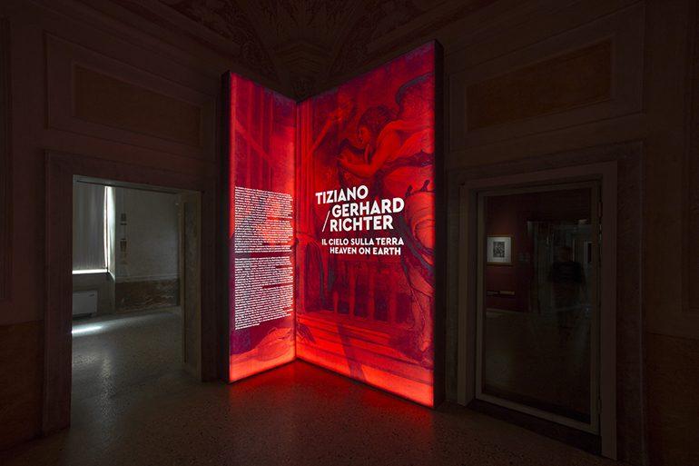 Tiziano and Gerhard Richter: Il Cielo sulla Terra Exhibition