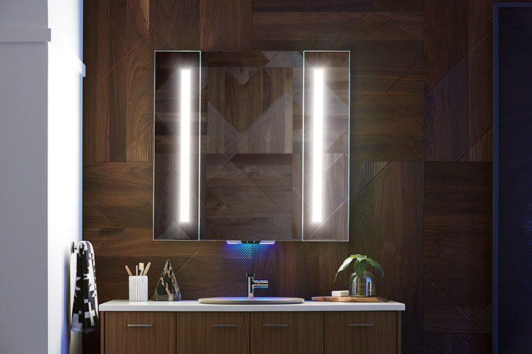 Verdera Voice Lighted Mirror with Amazon Alexa
