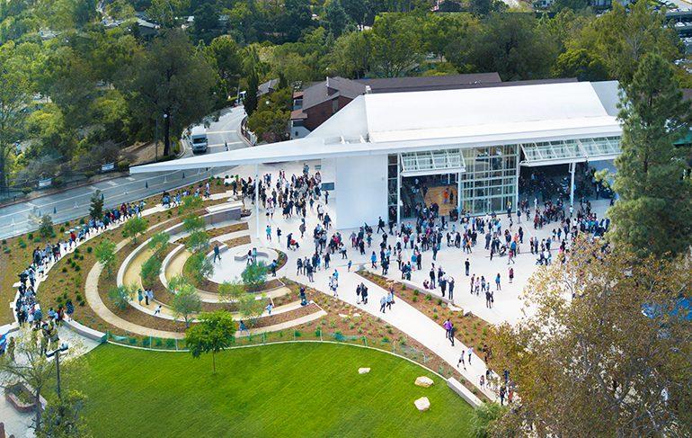 Katz Family Pavilion and Shalom Garden