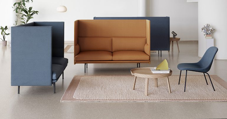 Outline Highback Sofa