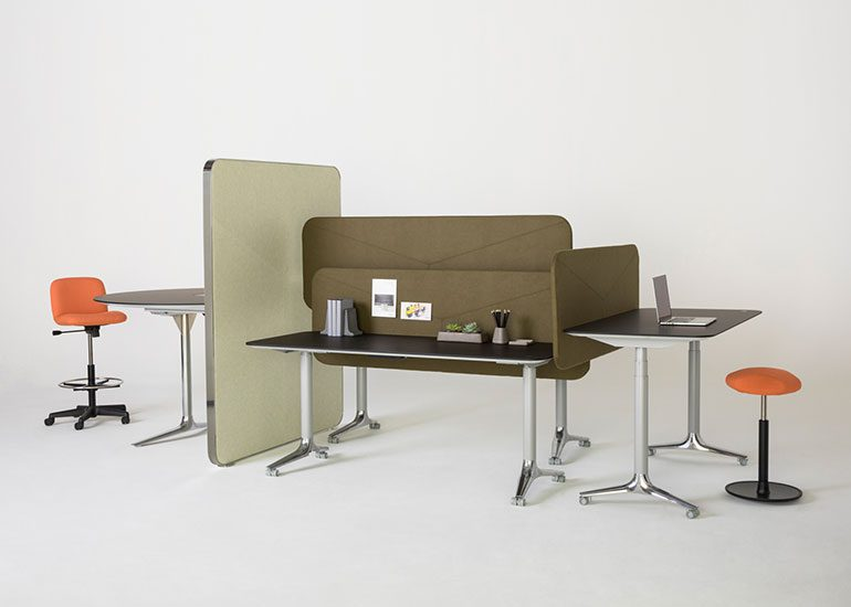 Gateway Height Adjustable Mobile Tables