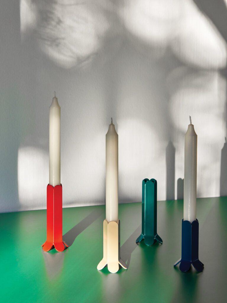 Arcs candleholder