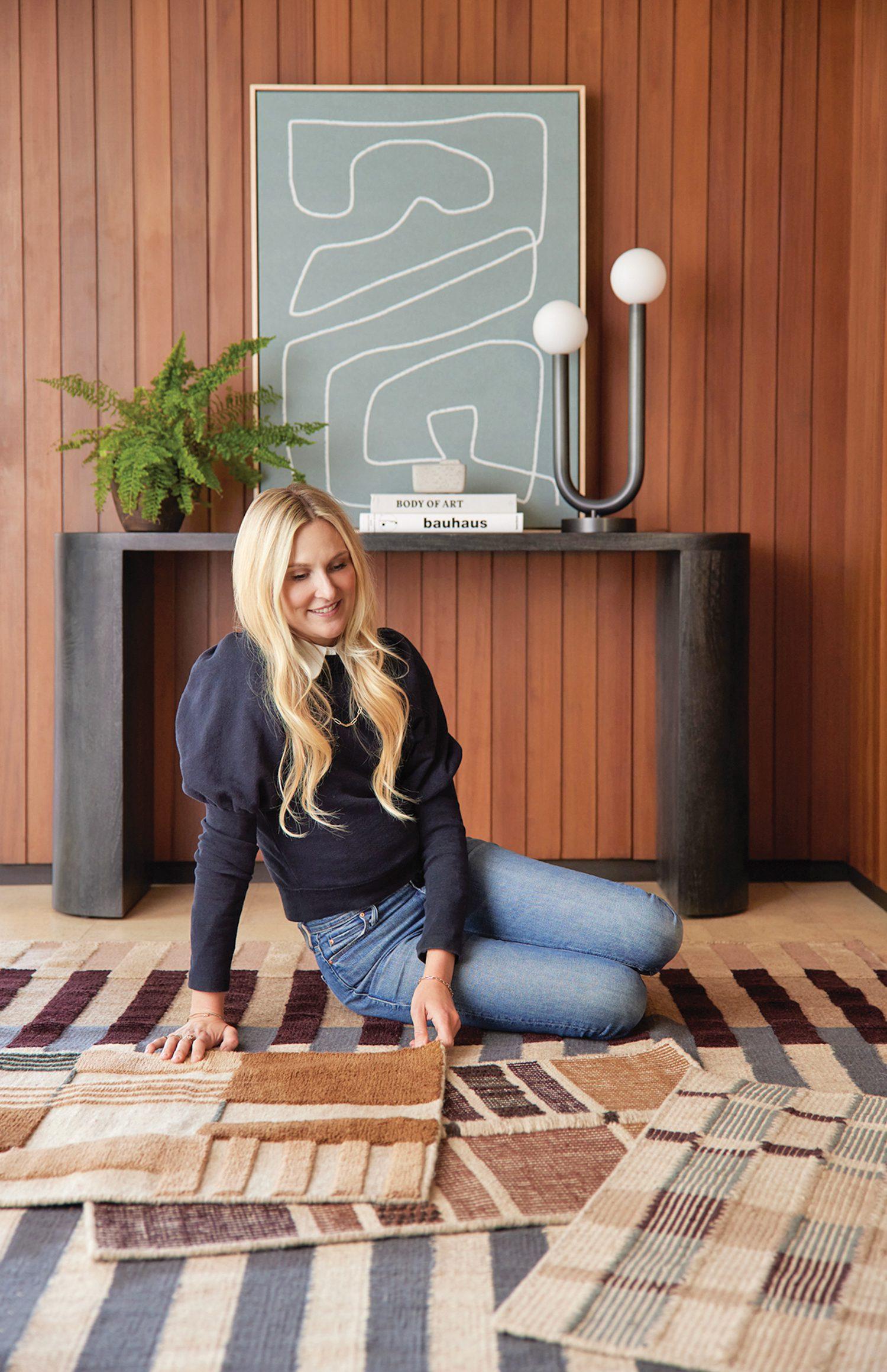 Author and interior designer Nina Freudenberger.