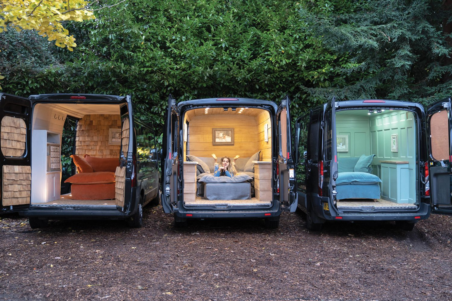 Marker&Son brings seating to the U.S. with mobile showrooms.