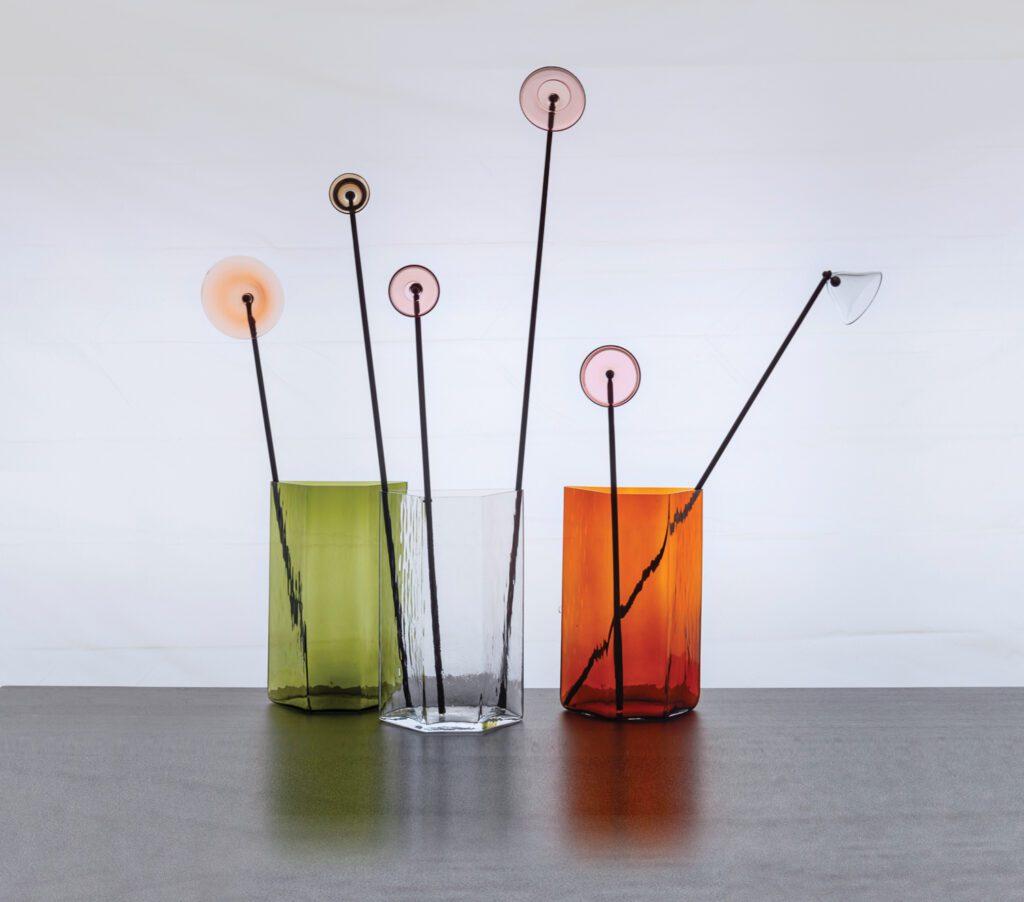 Their Fleurs and Erkkeri vases for Iittala.