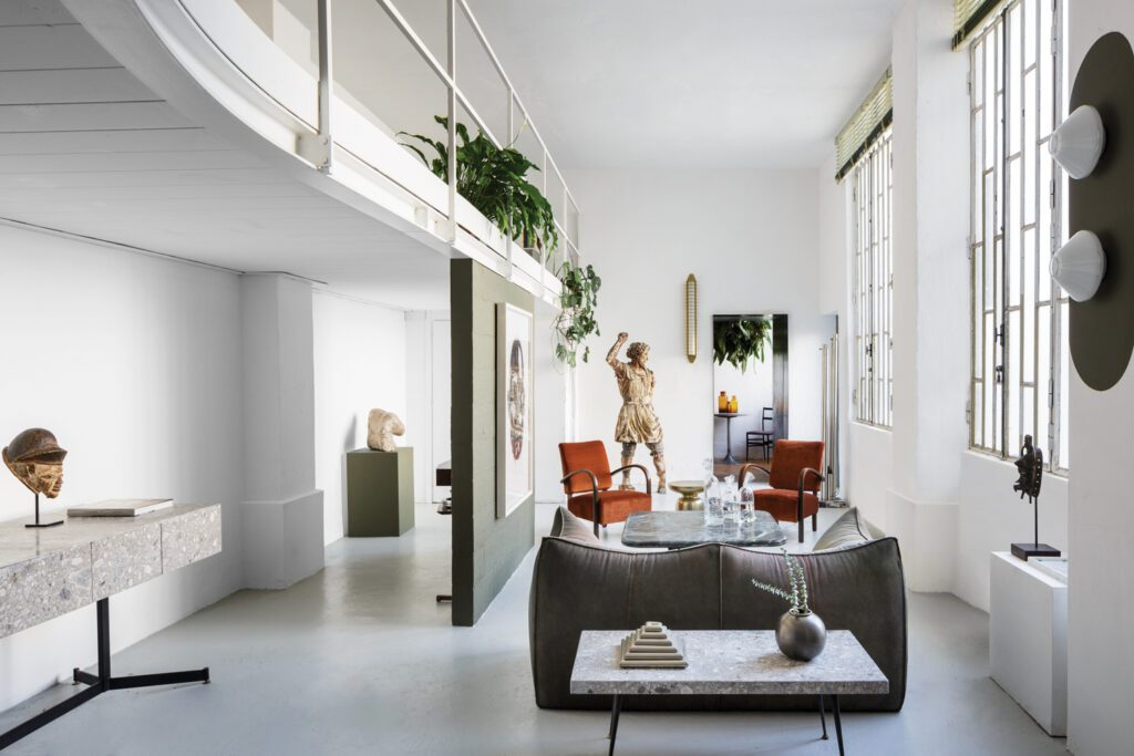Tommaso Spinzi Milan Apartment Living Area