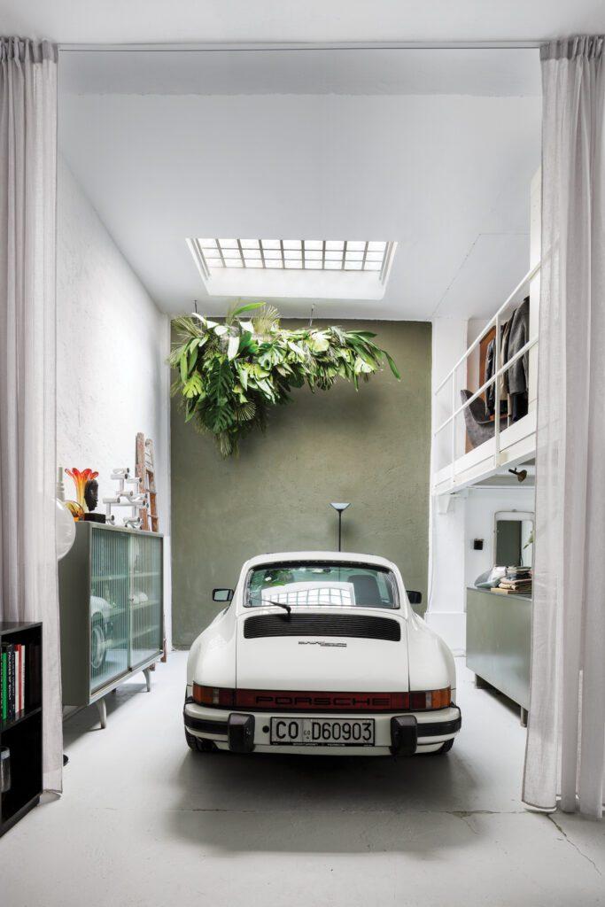 Tommaso Spinzi Milan Apartment Porsche