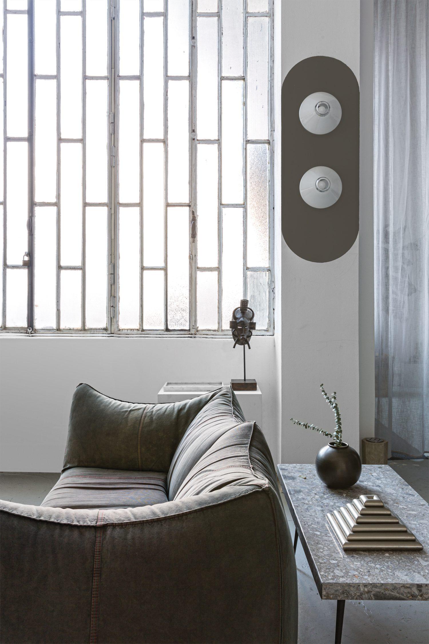 Tommaso Spinzi Milan Apartment sofa