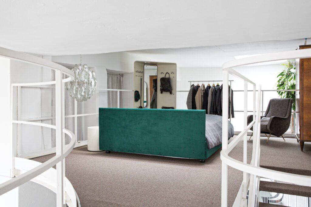 Tommaso Spinzi Milan Apartment bedroom