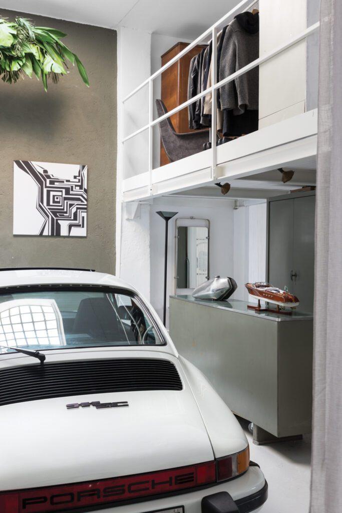 Tommaso Spinzi Milan Apartment garage