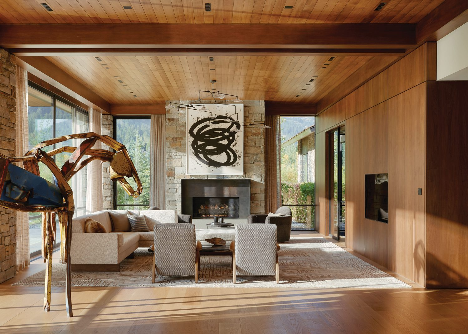 Jackson, Wyoming residence by CLB Architects