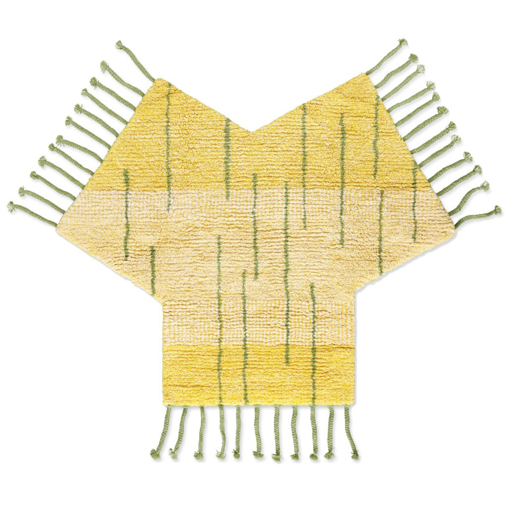 XY yellow textile by David Kaihoi for Patterson Flynn Martin.