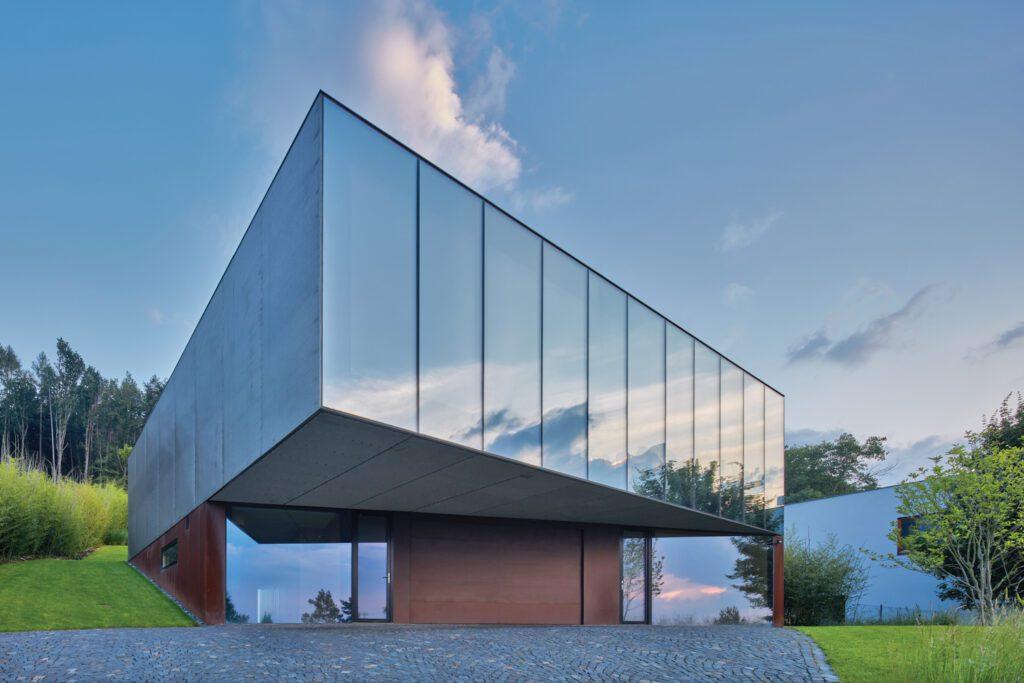 Zlín, Czech Republic residence by Petr Jandra/Brainwork