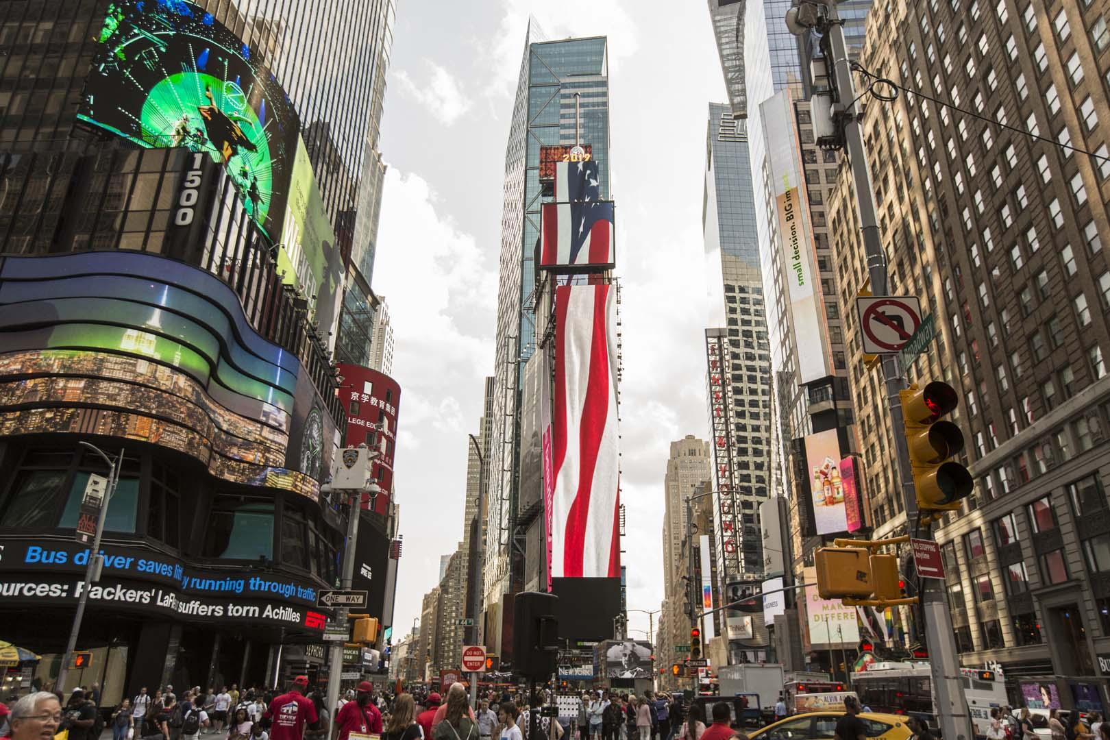 One Times Square Digital Art