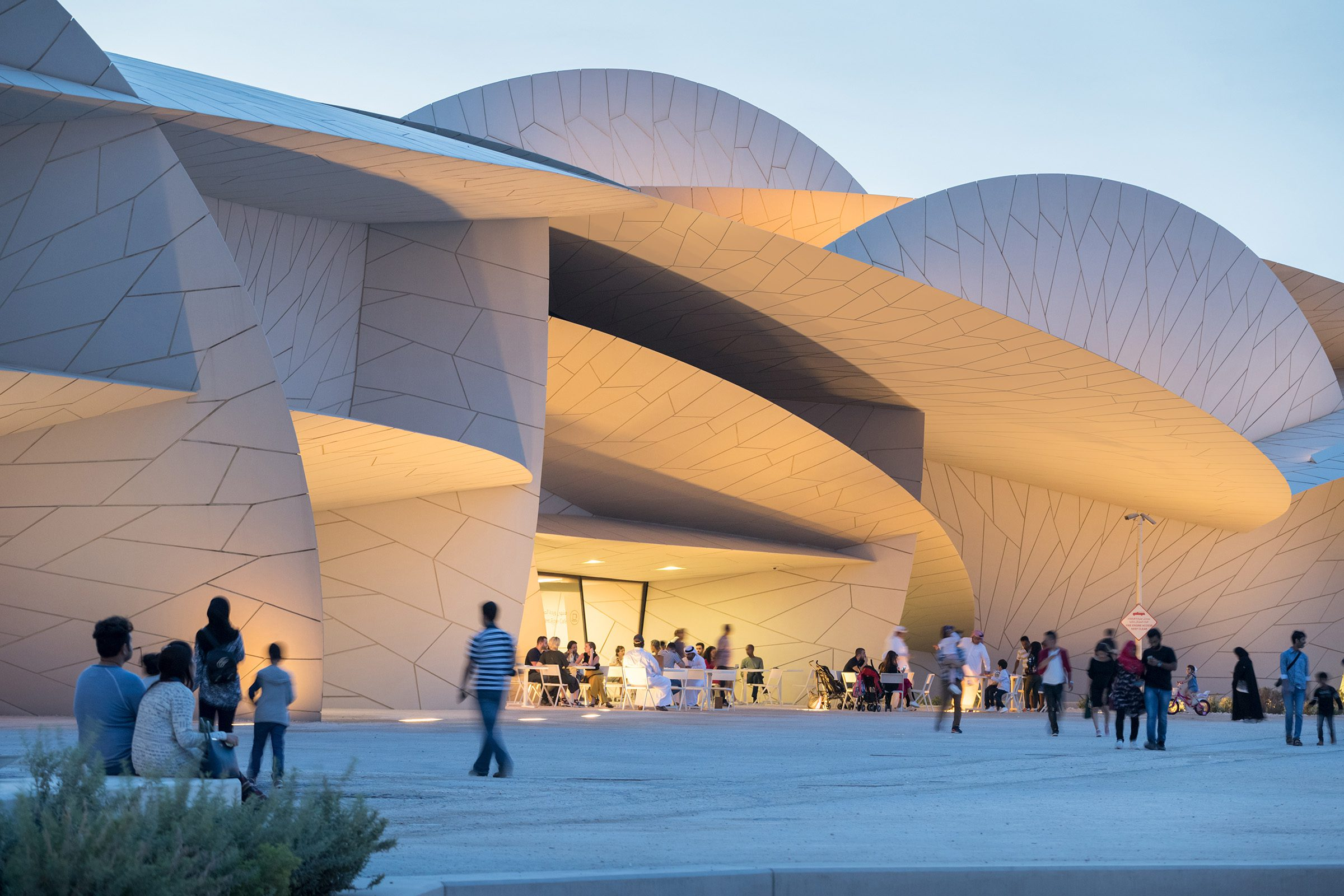 National Museum of Qatar Lighting Design
