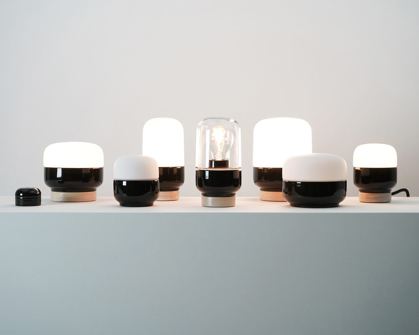 Ohm Porcelain Lights Collection