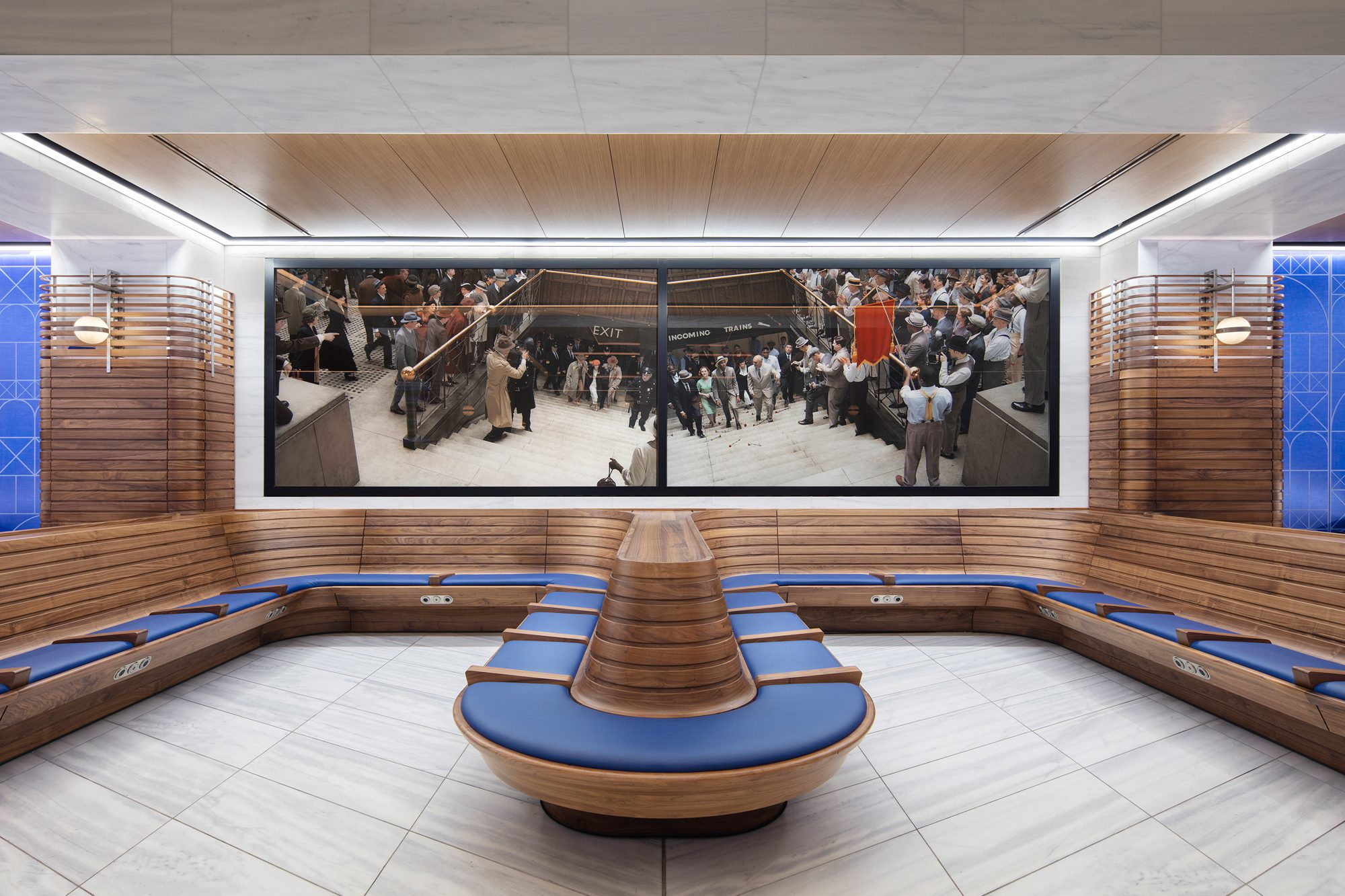 Ticketed Waiting Room, Moynihan Train Hall