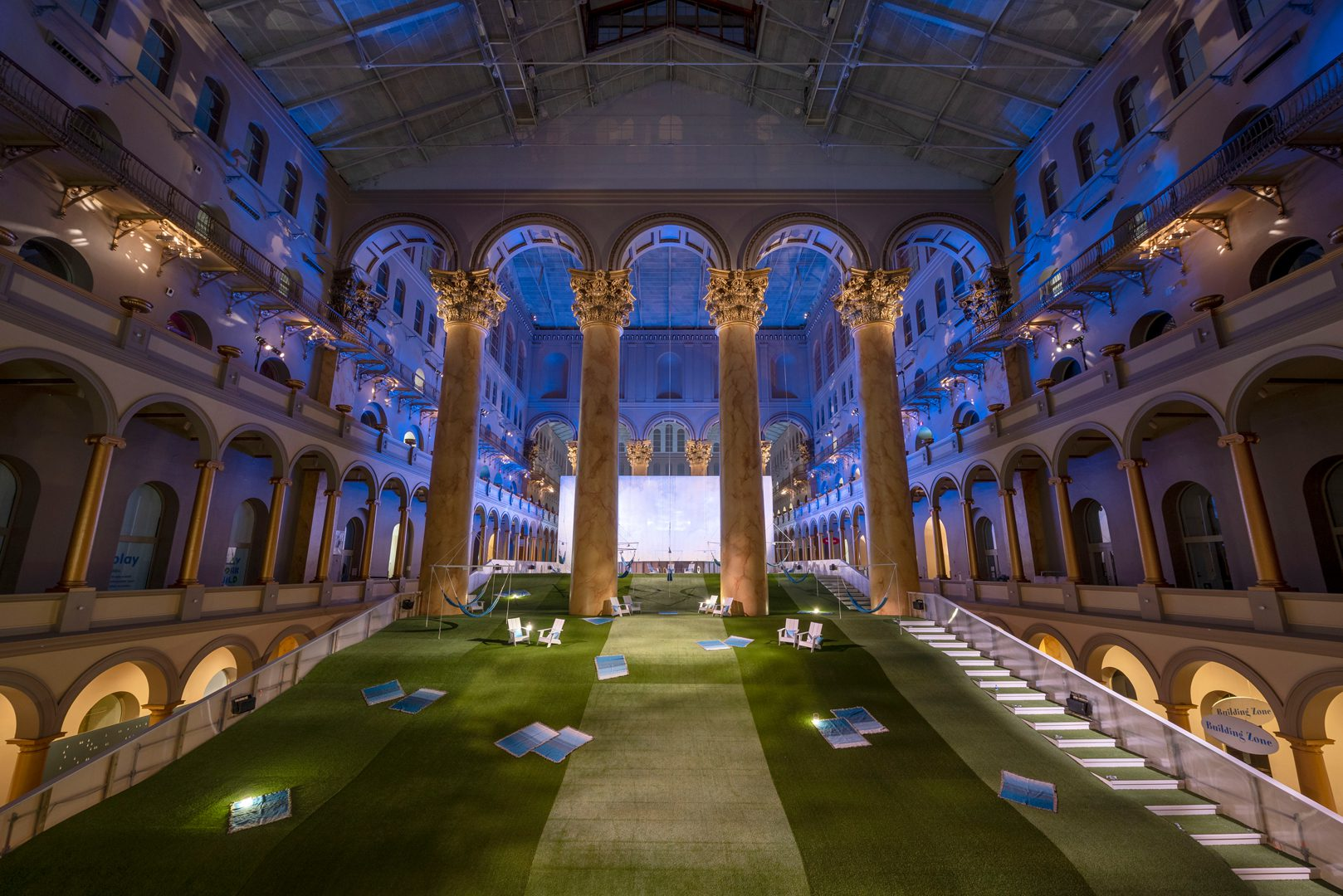 Lawn, National Building Museum