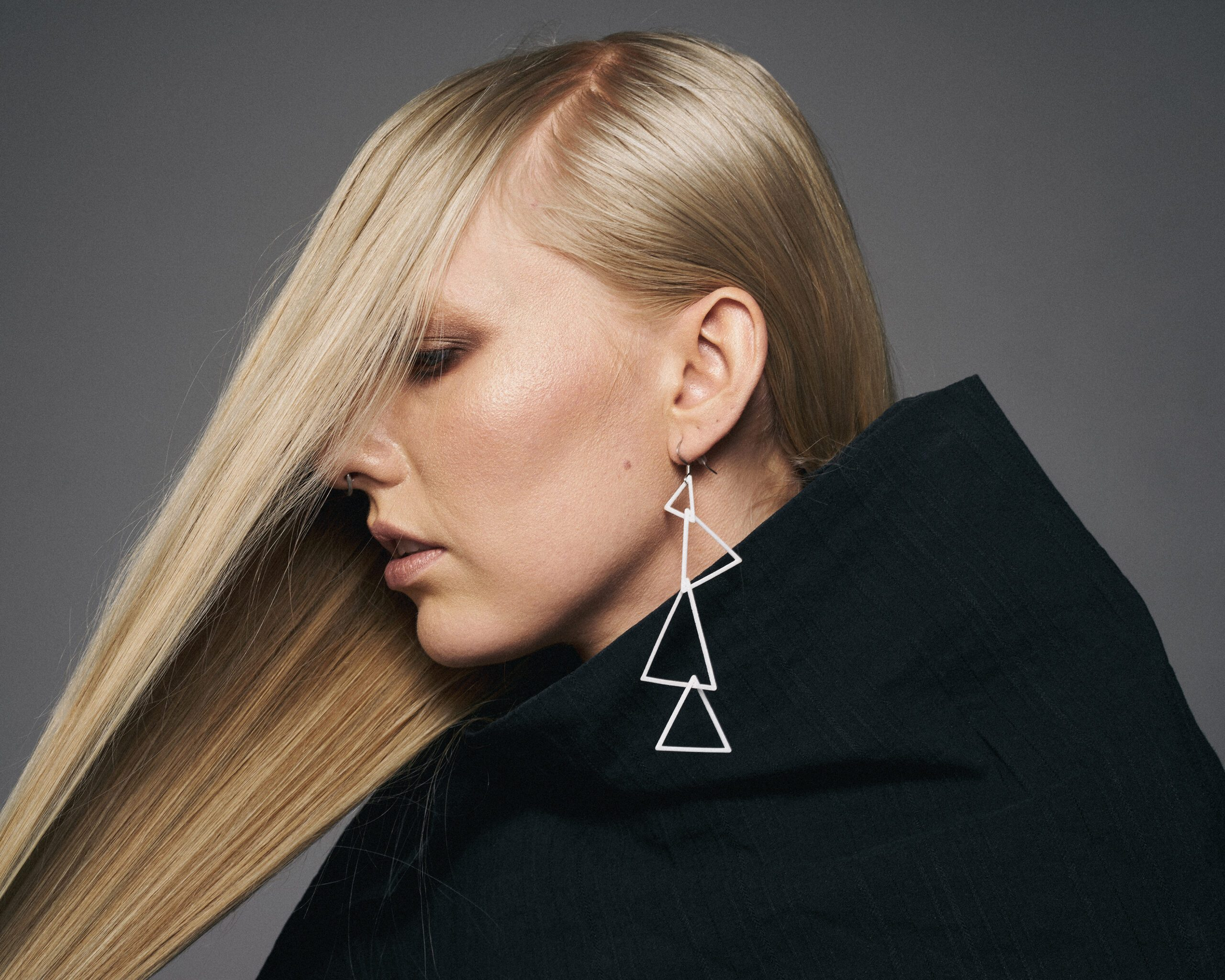 Equilateral Link Earring