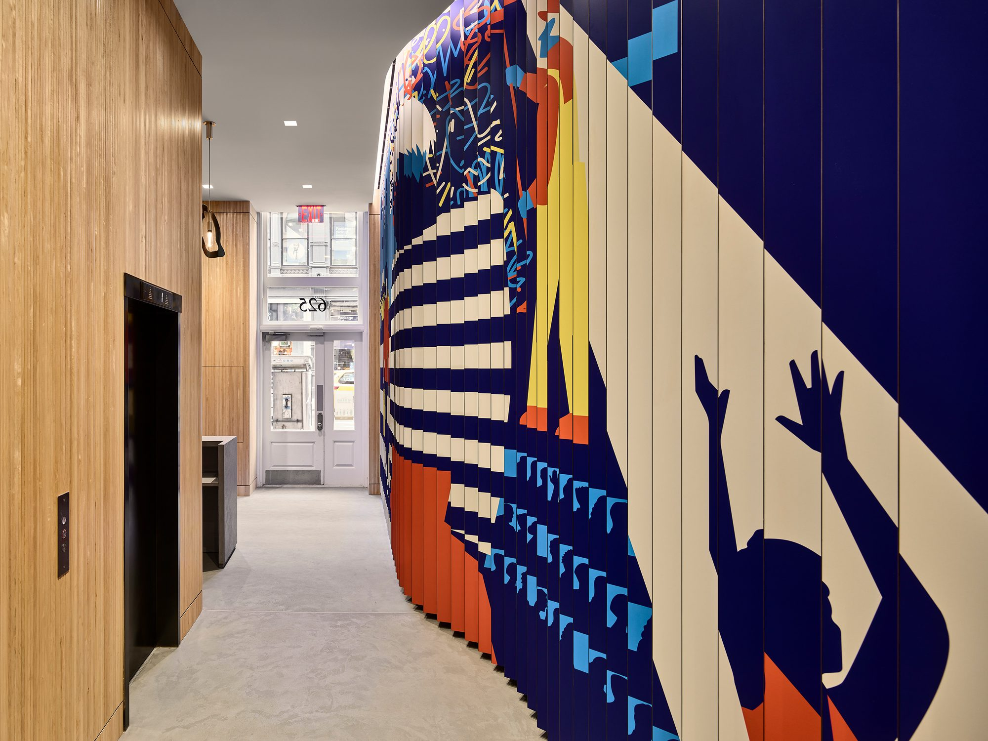 The Kaufman Lobby Art Experience