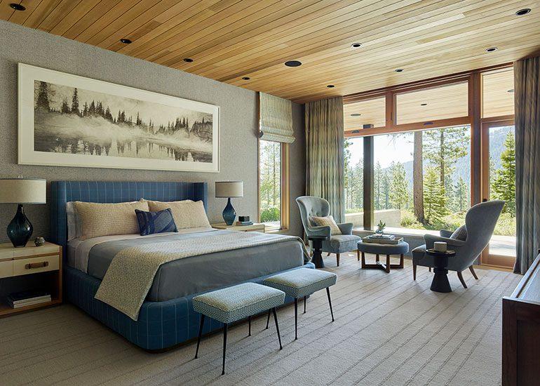 Tahoe Board Form Concrete House