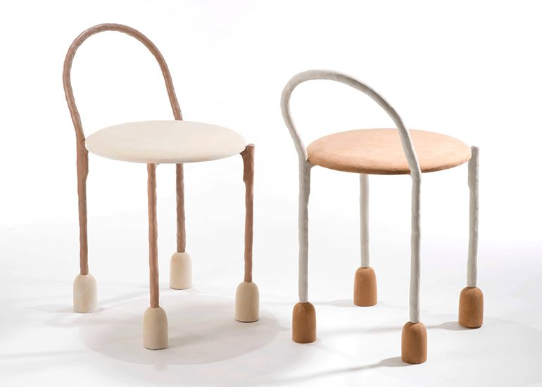 Lanky Coat Hanger and Bicky Chair