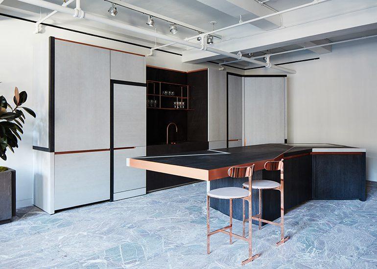 Bruno Moinard signature kitchen for Obumex