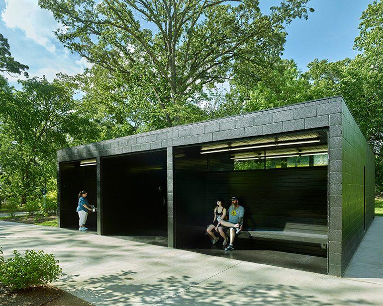 North Forest Trail Biological Pavilion, Crystal Bridges Museum of American Art