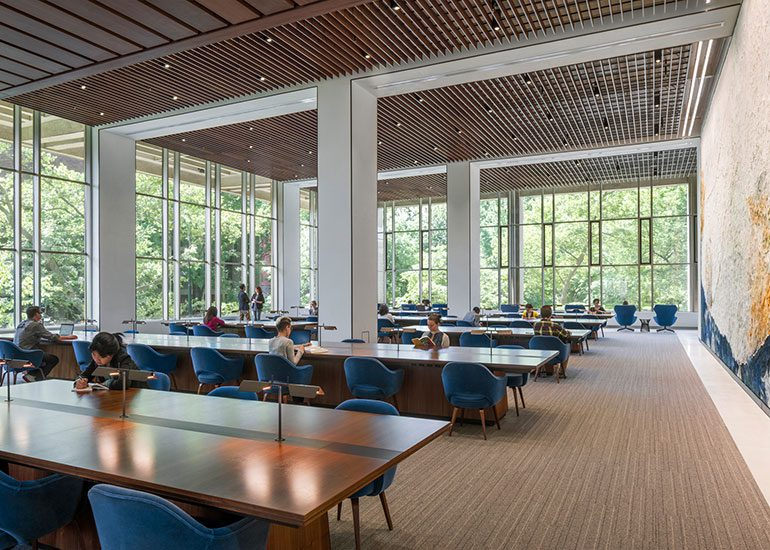 The Grand Reading Room at the University of Pennsylvania Library