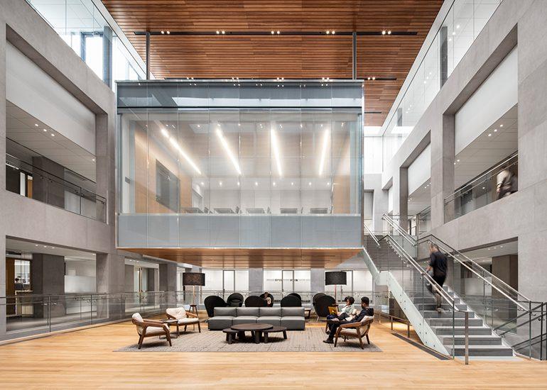 Julis Romo Rabinowitz Building & Louis A. Simpson International Building, Princeton University